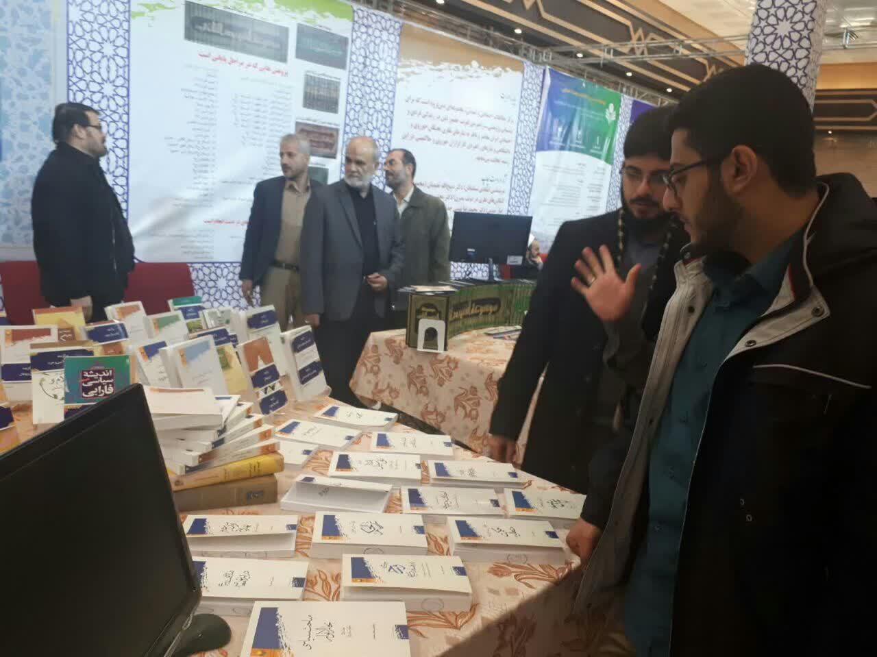 بازديد از نمايشگاهِ دستاوردهای پژوهشی پژوهشكده علوم و فرهنگ اسلامي