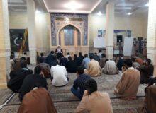 جلسه طلاب با مدیریت محترم مدرسه آیت الله بهجت قم