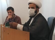 جلسه طلاب پایه دوم با مسئول محترم پایه استاد شمسایی