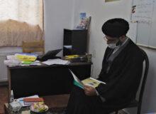 بازدید معاون پژوهش مدیریت مدارس متوسطه  دوم (دیپلمه) قم از مدرسه علمیه آیت الله بهجت (ره)