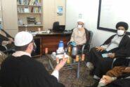 نشست اولیاء مدرسه با حجت الاسلام و المسلمین سعیدی آریا کارشناس برنامه سمت خدا