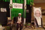 برگزاری مراسم سومین روز درگذشت حضرت آیت الله ممدوحی(ره) با سخنرانی استاد دستیاری