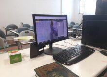 تدریس مجازی با استفاده از سامانه روبرو + تصاویر