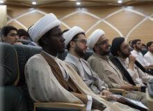 برگزاری حفل ختامی(جشن پایان دوره) برای طلاب پس از پایان قرنطینه ۱۴ روزه زبان عربی