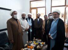 جلسه اولیاء مدرسه علمیه آیت الله بهجت(ره) با مسئول و اعضای دفتر فرهنگی کتائب حزب الله عراق در ایران