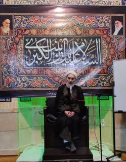 مراسم رحلت حضرت زینب (س) با سخنرانی حجت الاسلام دستیاری + تصاویر